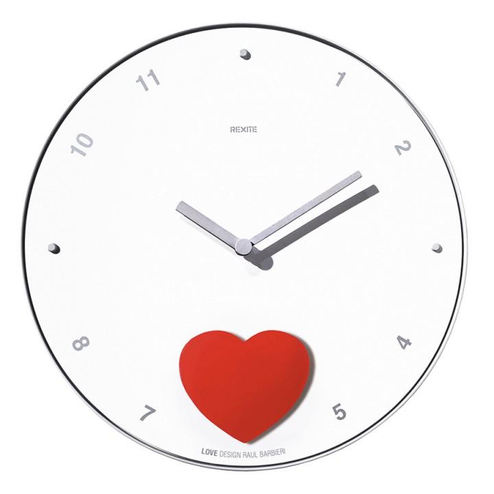 Appuntamento - Love - Orologio a pendolo da parete
