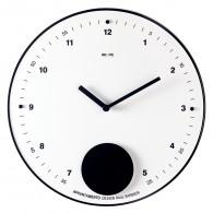 Appuntamento - Bianco - Orologio a pendolo da parete
