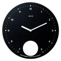 Appuntamento - Nero - Orologio a pendolo da parete