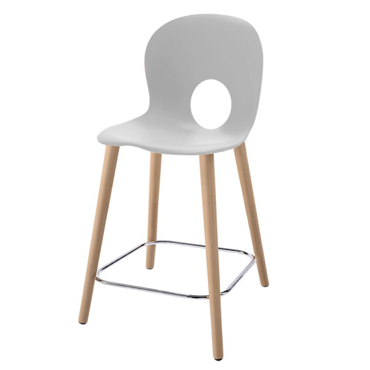 Olivia Wood L - Medium stool