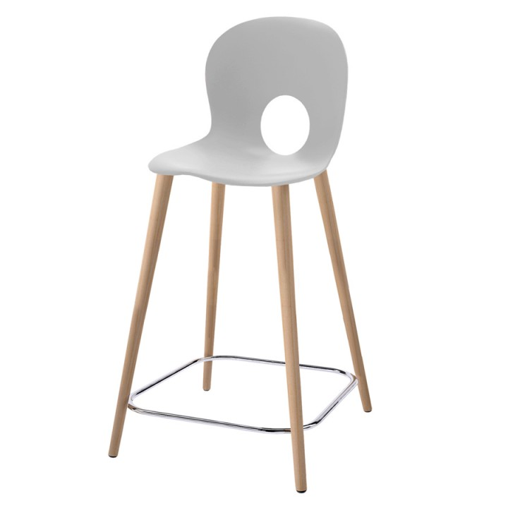 Olivia Wood XL - High stool